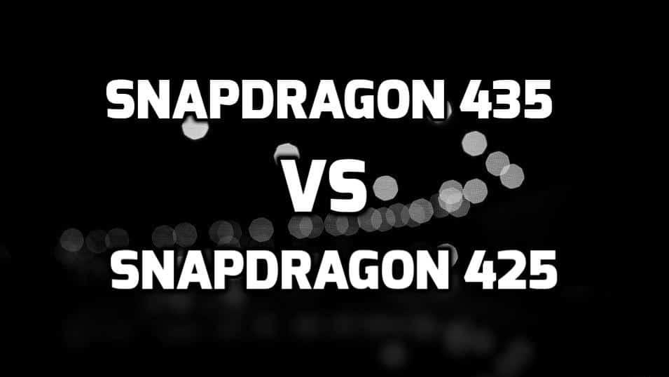 Snapdragon 435 vs 425