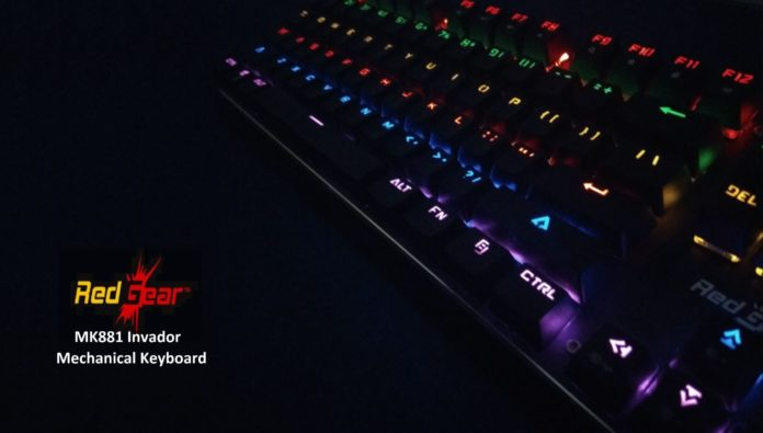 Redgear MK881 Invador Mechanical Keyboard