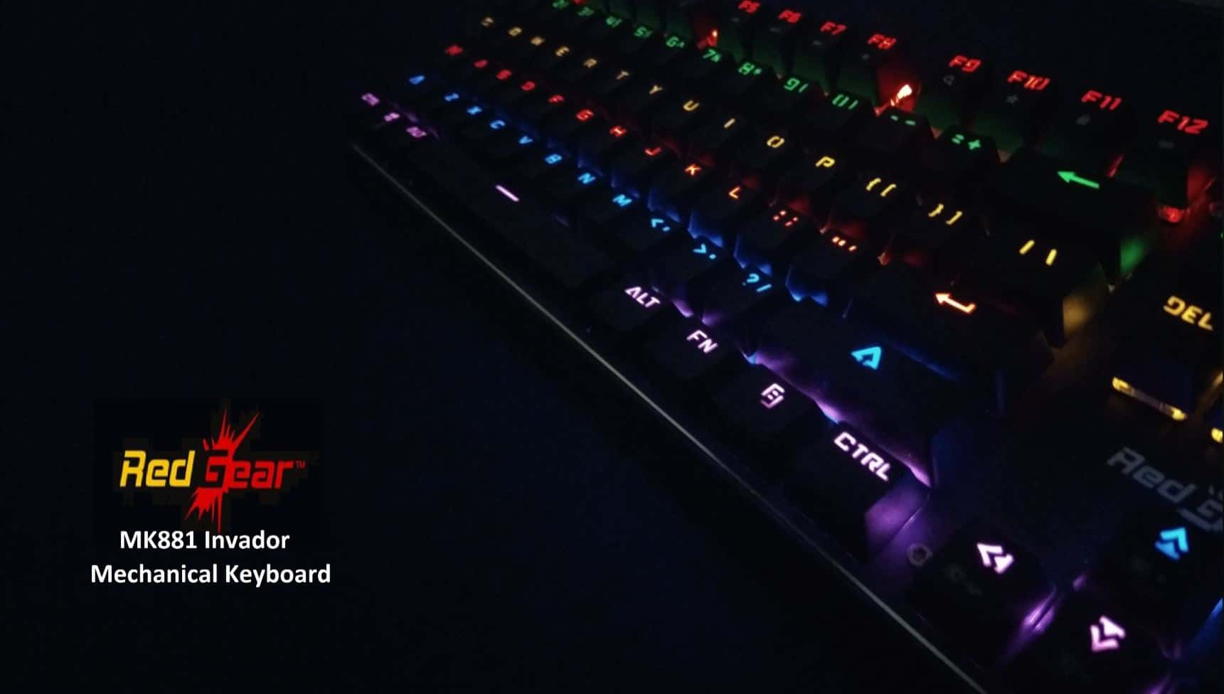 Redgear MK881 Invador Mechanical Keyboard