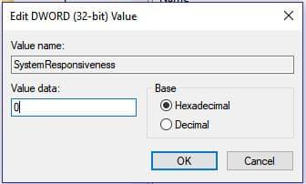 Windows System Responsiveness