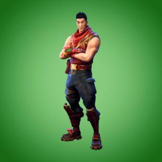 Fortnite Crimson Scout Skin