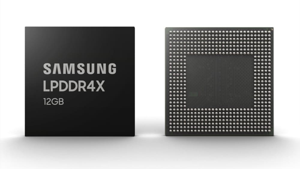 Samsung LPDDR4x Memory