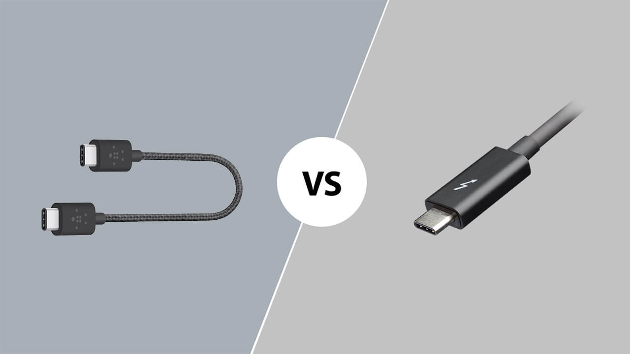 USB Type-C vs Thunderbolt