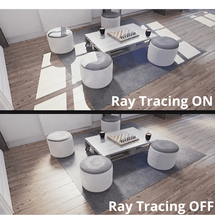 Ray Tracing Turned On Example