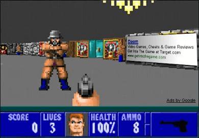 Wolfenstein 3D Ray Casting