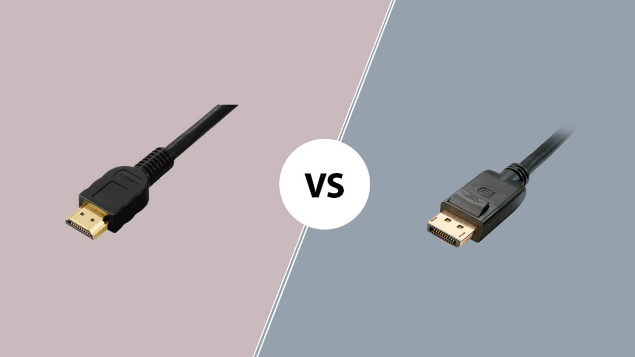HDMI 2.1 vs DisplayPort 1.4